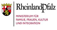 Logo Ministerium für Familie, Fauen, Kultur und Integration Rheinland-Pfalz